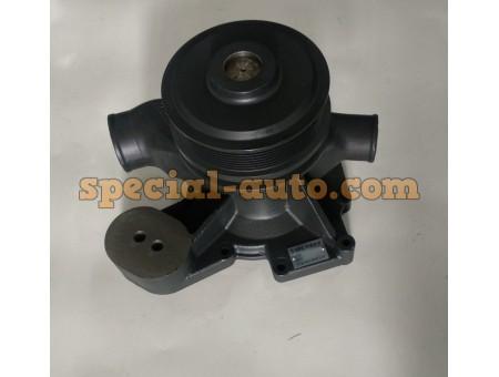 Помпа под ручейковый ремень (высота ножки 45 мм) 8РК WP10 SHAANXI F3000 качество (производитель SORL)