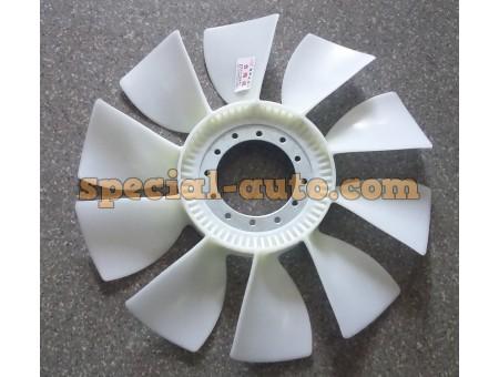 Вентилятор d 570мм без обода (10 лопастей) Shaanxi/HOWO