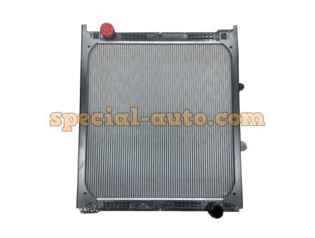 Радиатор охлаждения алюминиевый (бачки пластмассовые) SHAANXI 2214/2204