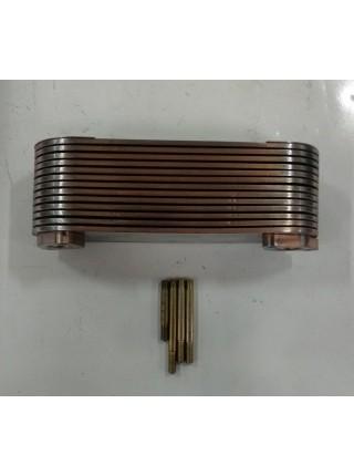 Теплообменник двиг:SC9D220.2G2B1 SHANGCHAI D9
