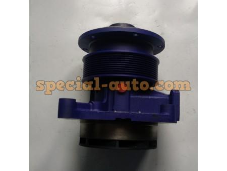 Помпа под ручейковый ремень (низкая ножка) Shaanxi/WP10 качество (производитель SORL)