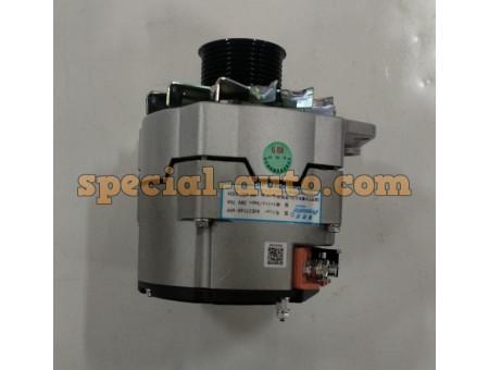 Генератор (AVE2716D/JFZ2970) 28V/70A (8PK) HOWO/SHAANXI/Погрузчик ZL50F двиг:WD615 качество (фирма PRESTOLITE)