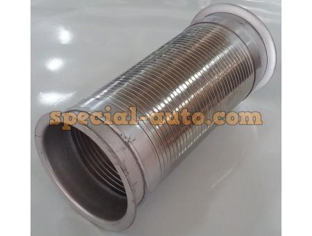 Гофра на выхлопную трубу 310 х 150 (два фланца круглых) Shaanxi F2000