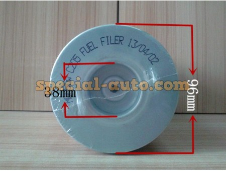 Топливный фильтр Элемент FS19728 JCM936F