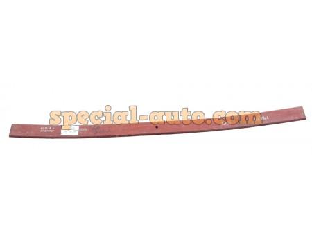 Лист задней рессоры №1 (1650x90x25 Ф16мм) красный Shaanxi F3000