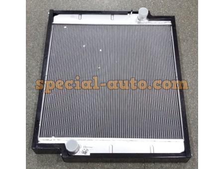 Радиатор охлаждения алюминиевый (бачки алюминь) HOWO двиг:WD615