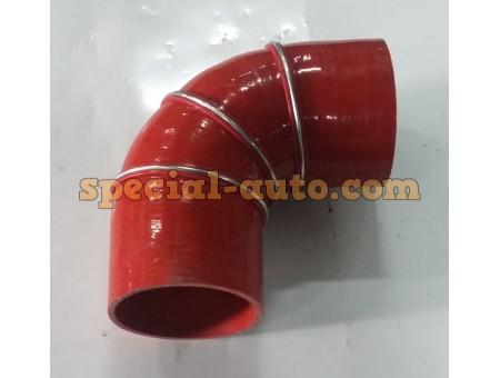 Патрубок Г-образный верхний радиатор 100*100 JWZ