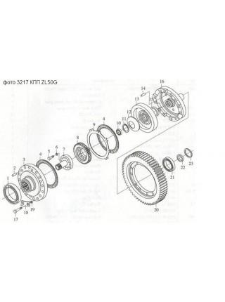Подшипник 122 (6022) (110х170х28) КПП ZL50G