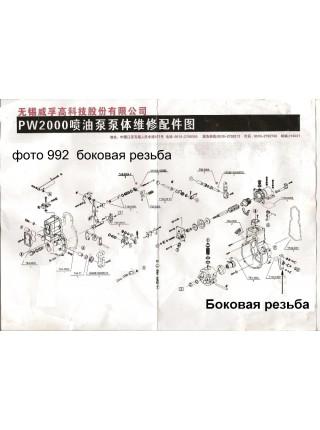 Боковая резьба на ТНВД FAW CA3252