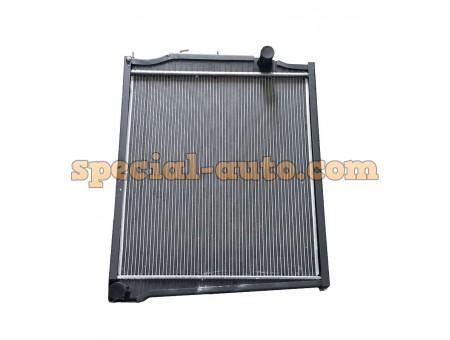 Радиатор охлаждения алюминиевый (бачки пластмассовые) SHAANXI 9268