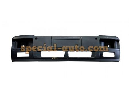 Бампер передний высокий цельный (верх+низ) SHAANXI F2000 пластик