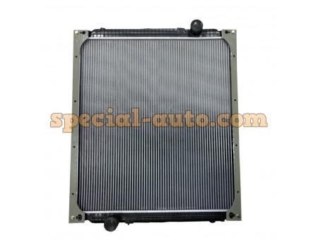 Радиатор охлаждения алюминиевый (бачки алюминь) двиг:WD615. HOWO 0230 371 л.с.