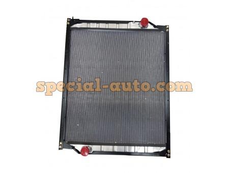Радиатор охлаждения алюминиевый (бачки пластмас) двиг:WD615. HOWO 0231 371 л.с.