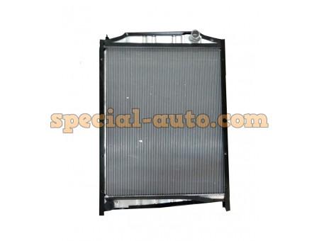 Радиатор охлаждения алюминиевый (бачки пластмассовые) SHAANXI M3000