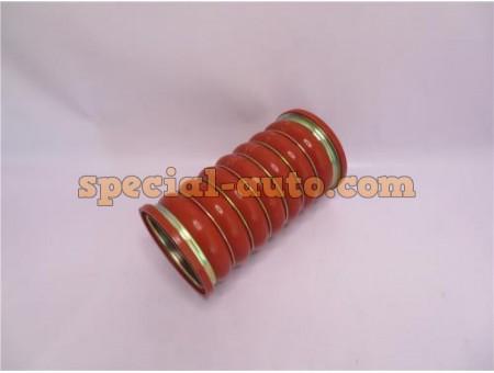 Патрубок 100х213 (6 стяжек) интеркулера HOWO 2009 качество (производитель QINYAN)