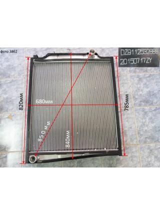 Радиатор охлаждения алюминиевый (бачки пластмассовые) SHAANXI 2888