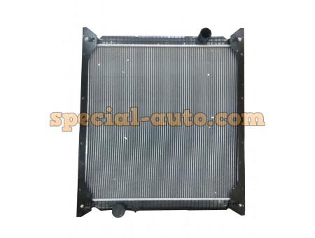 Радиатор охлаждения алюминиевый (бачки пластмас) двиг:WD615 HOWO 2010