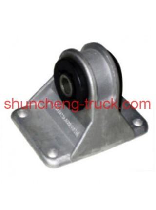 Подушка крепления радиатора (алюминий) SHAANXI