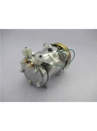 Компрессор кондиционера HOWO  под 2 ремня R134A (Хорошее )