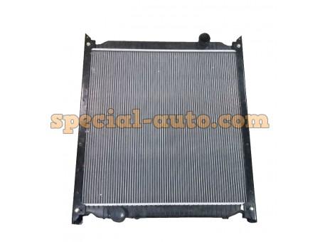 Радиатор охлаждения алюминиевый, пластиковые бочки HOWО