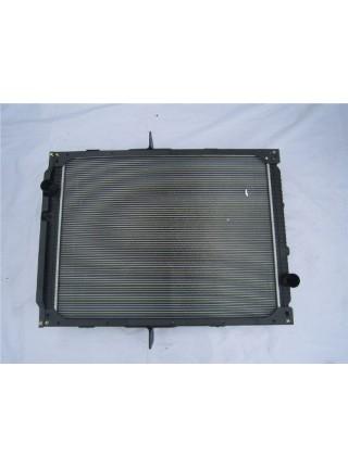 Радиатор охлаж. алюмин (бачки пластмас) HOWO A7 двиг: D12