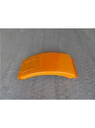Брызговик SHAANXI F2000 переднего колеса правый желтый