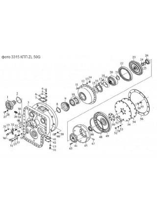 Подшипник 117 (6017) (130х85х22) КПП ZL50G