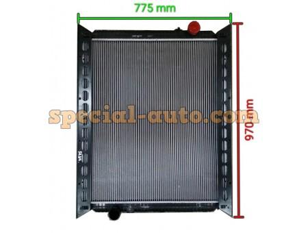 Радиатор охлаж. алюмин (бачки пластмас) 0270 HOWO двиг:WD615 Euro lll