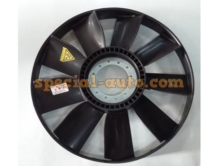 Вентилятор d 590мм с ободом (9-лопастей) HOWO WD615.69